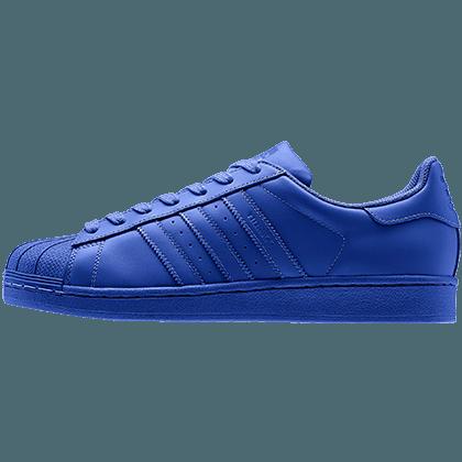 superstar adidas femme bleu electrique